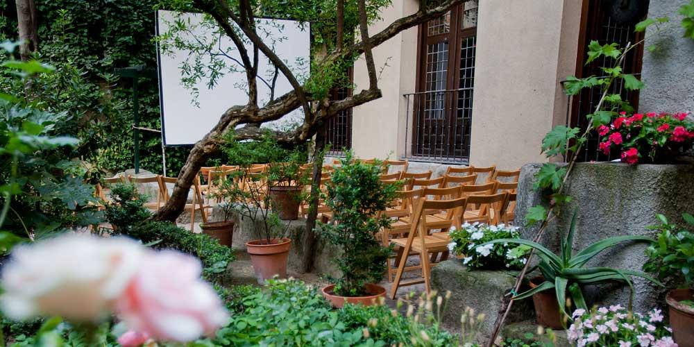 La Casa Museo Lope de Vega monta un cine de verano gratis en su jardín