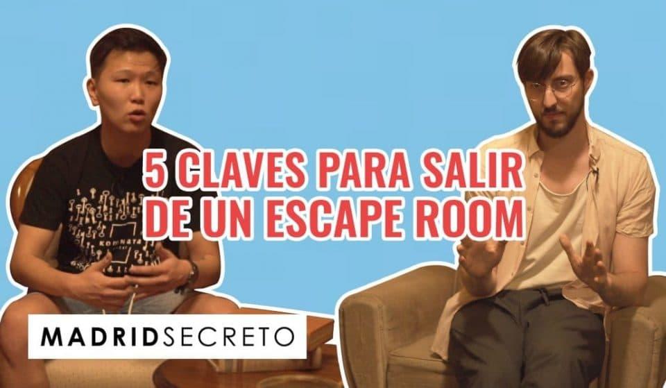 Las claves para salir de cualquier «escape room» del mundo