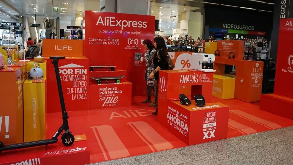 AliExpress abre este domingo su primera tienda física en Madrid