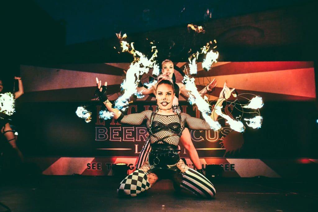 Lagunitas Beer Circus: el circo más bizarro abre sus puertas en Madrid