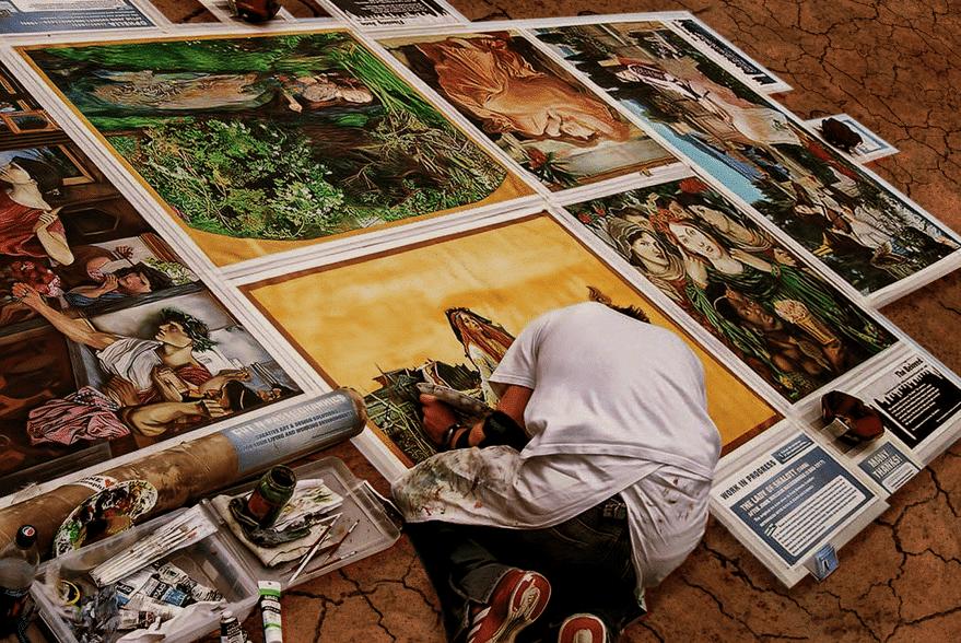 Exposiciones de arte a pie de calle