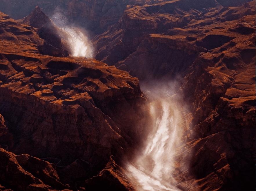 Descubierto El Gran Cañón Marciano
