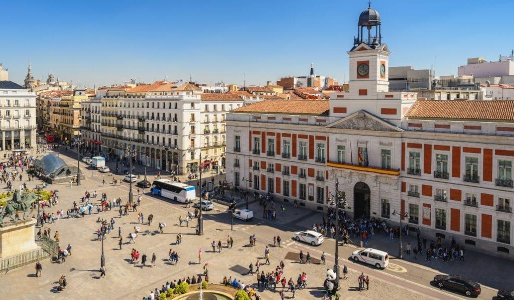 Las obras para peatonalizar la Puerta del Sol empiezan este jueves