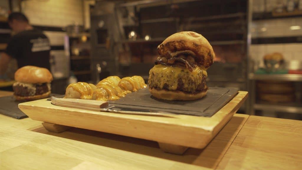 Así es la mejor hamburguesa de Madrid