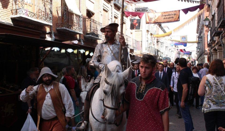 Vuelve el Mercado Cervantino de Alcalá de Henares ambientado en la batalla de Lepanto