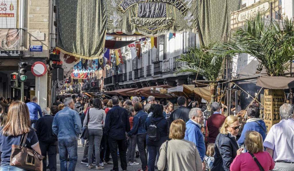Mercado Cervantino: Alcalá de Henares se vuelve al Siglo de Oro