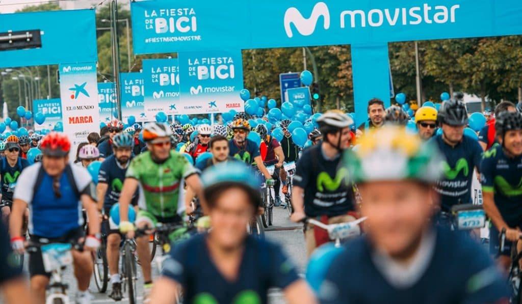 La Fiesta de la Bici: el domingo miles de bicicletas llenarán la Castellana