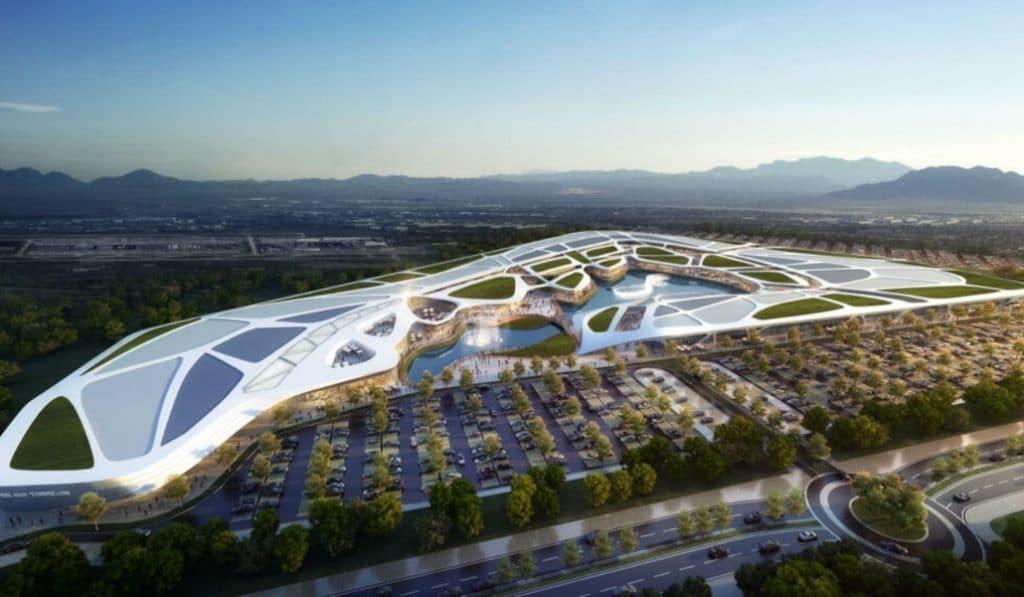 Torrejón de Ardoz tendrá un centro comercial con club de playa, lago y discoteca