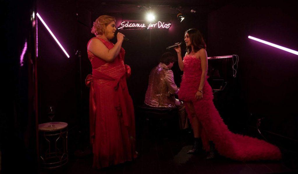 Una noche en el karaoke de Paquita Salas