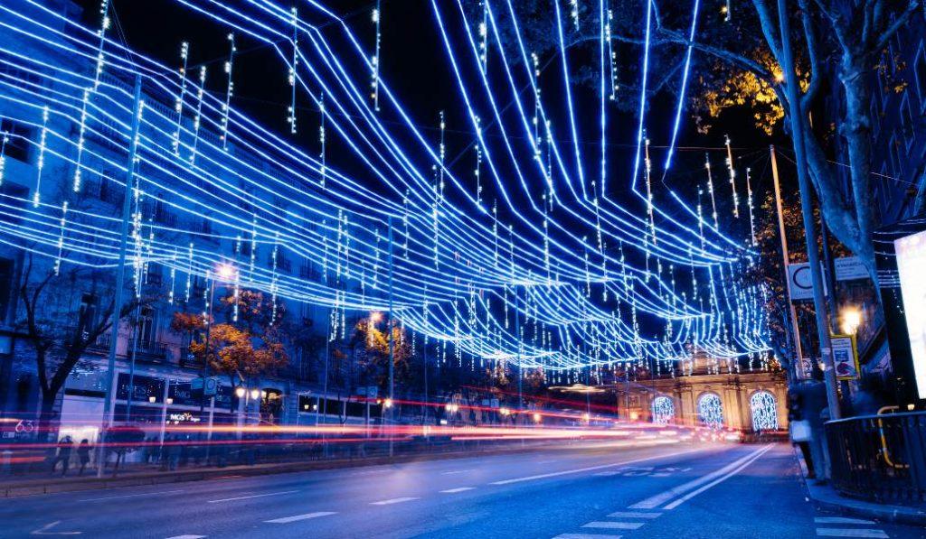 El pique entre Madrid y Vigo por desplegar las mejores luces de Navidad