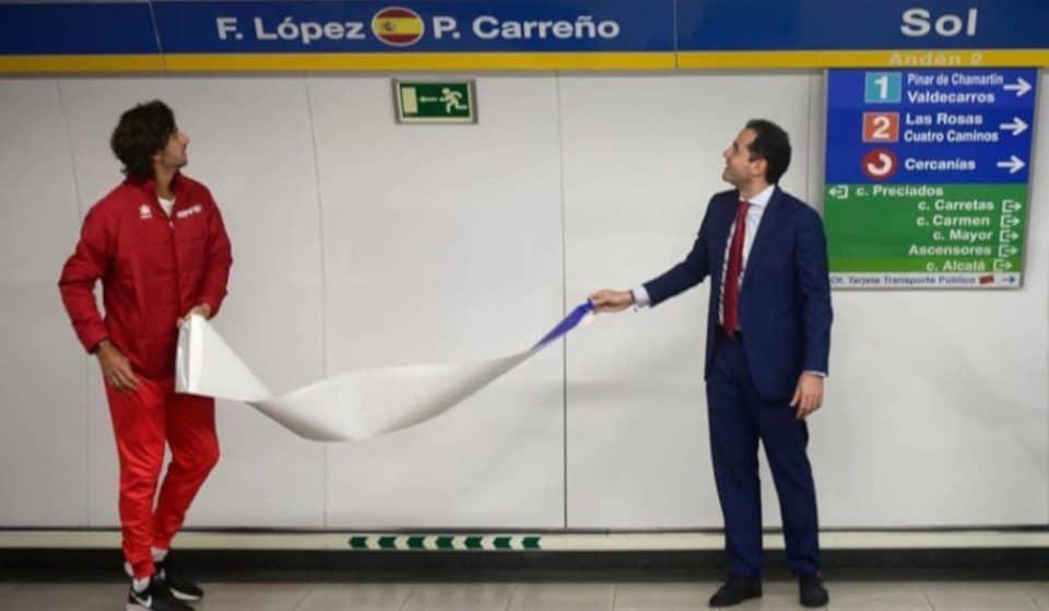 La línea 3 de Metro pasa a ser la línea de la Copa Davis