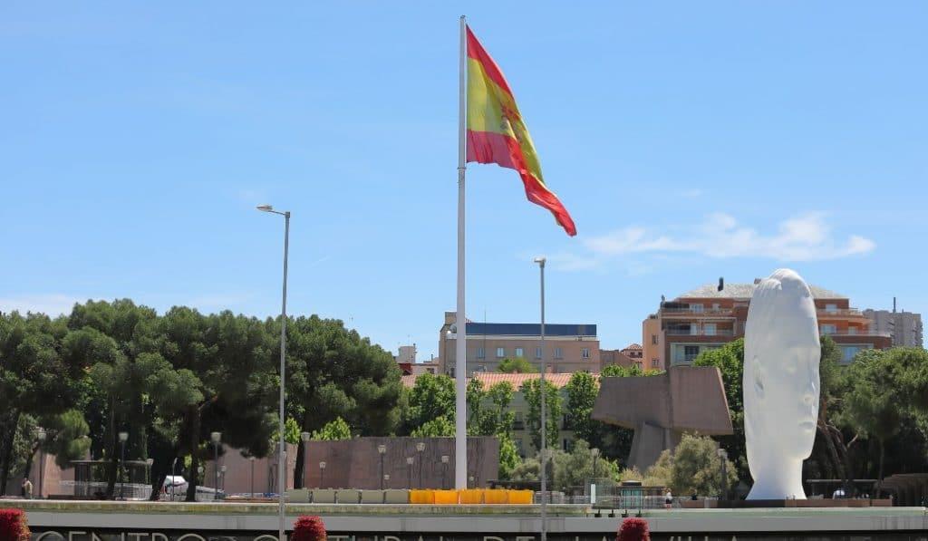 Madrid tendrá una bandera de España gigante en Chamberí