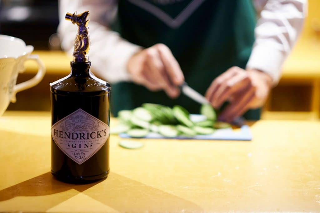 Hendrick's Gin te quiere acompañar en tu siguiente comida o cena en Madrid