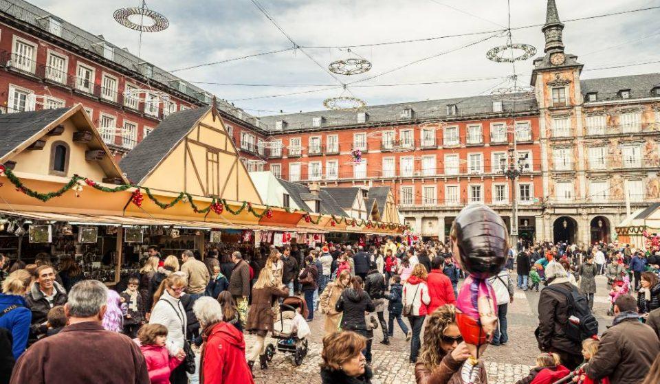 El Mercado de Navidad de la Plaza Mayor vuelve otro año más
