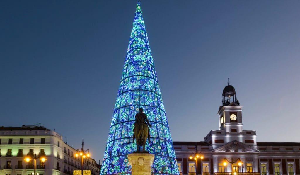 El árbol de Navidad de Sol ya está en construcción