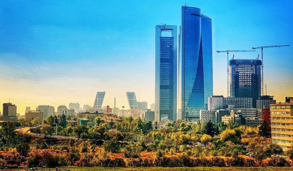 La quinta torre, Caleido, alcanzará su máxima altura en diciembre