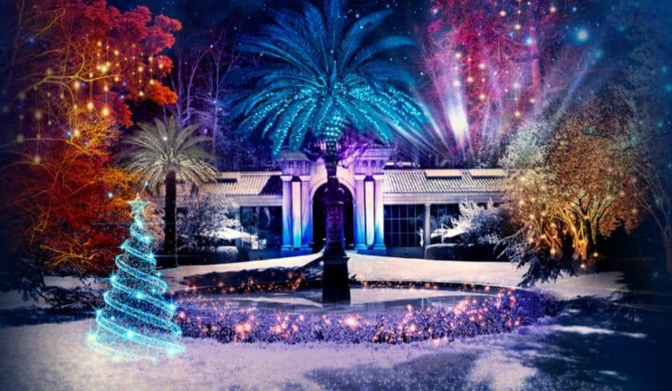 El Jardín Botánico de Madrid estrenará luces navideñas en noviembre
