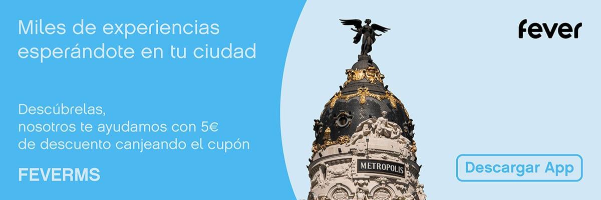 Madrid Secreto: cupón de descuento FEVERMS