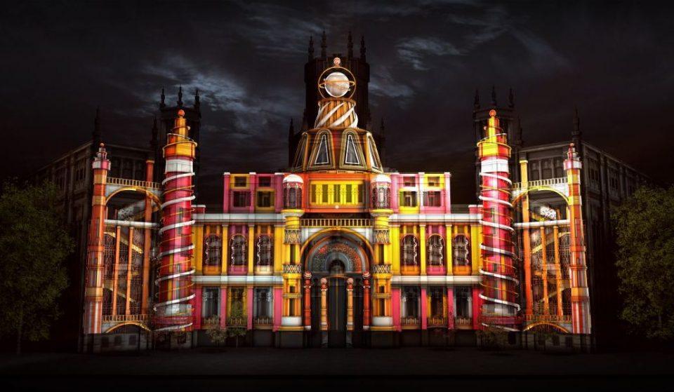 Hoy empieza el videomapping interactivo sobre la fachada del Palacio de Cibeles