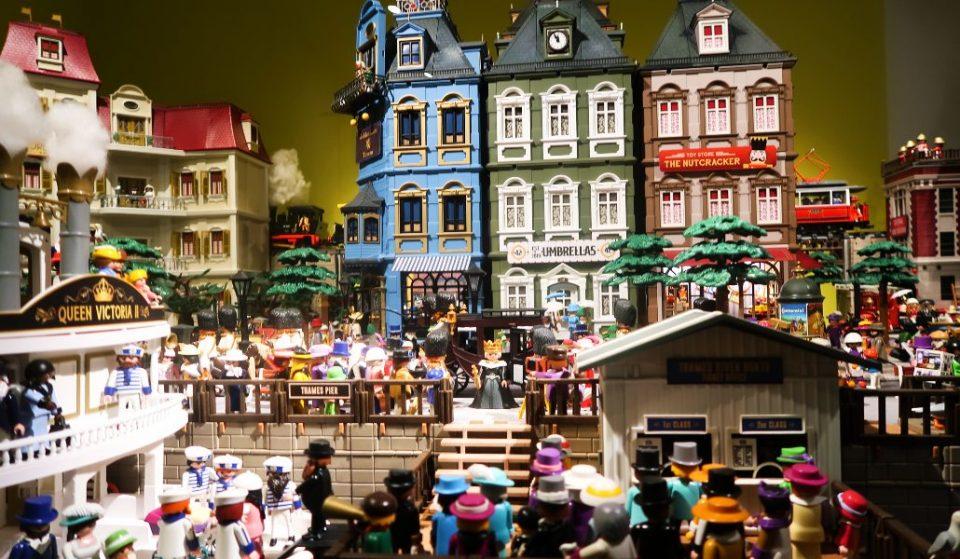Más de 3.000 «clicks» de Playmobil protagonizan una exposición en Madrid