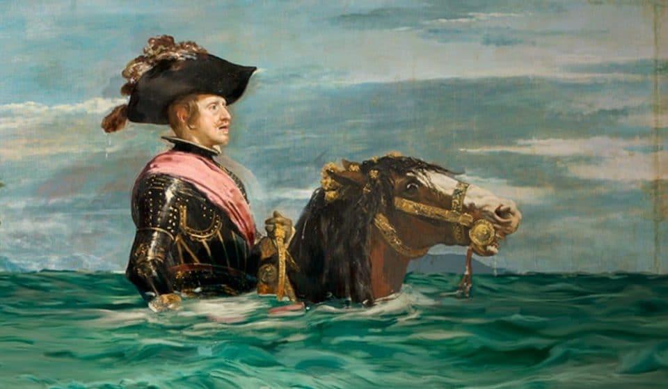 Los cuadros del Museo del Prado se «inundan» por el cambio climático
