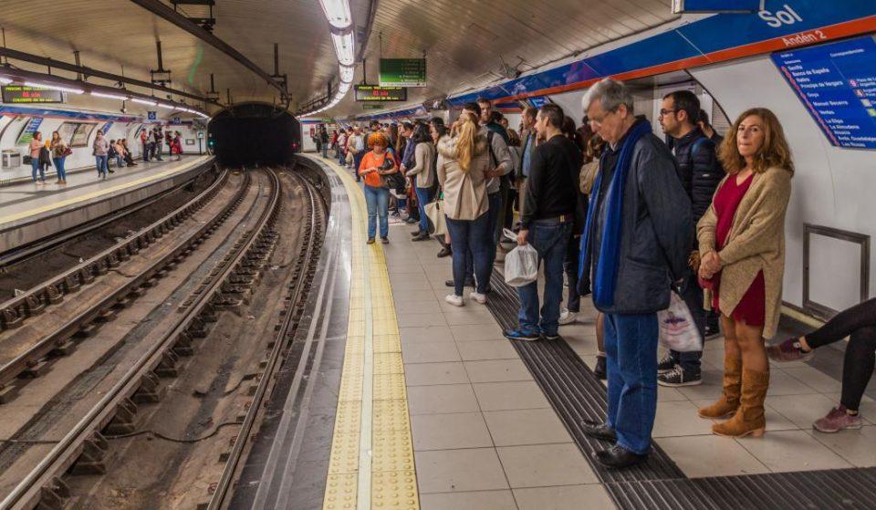 La semana fatídica del transporte madrileño: huelgas de bus, metro y tren