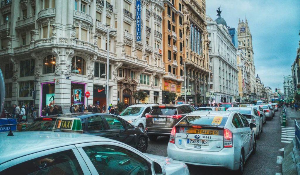 Madrid es la cuarta ciudad con más atascos de España