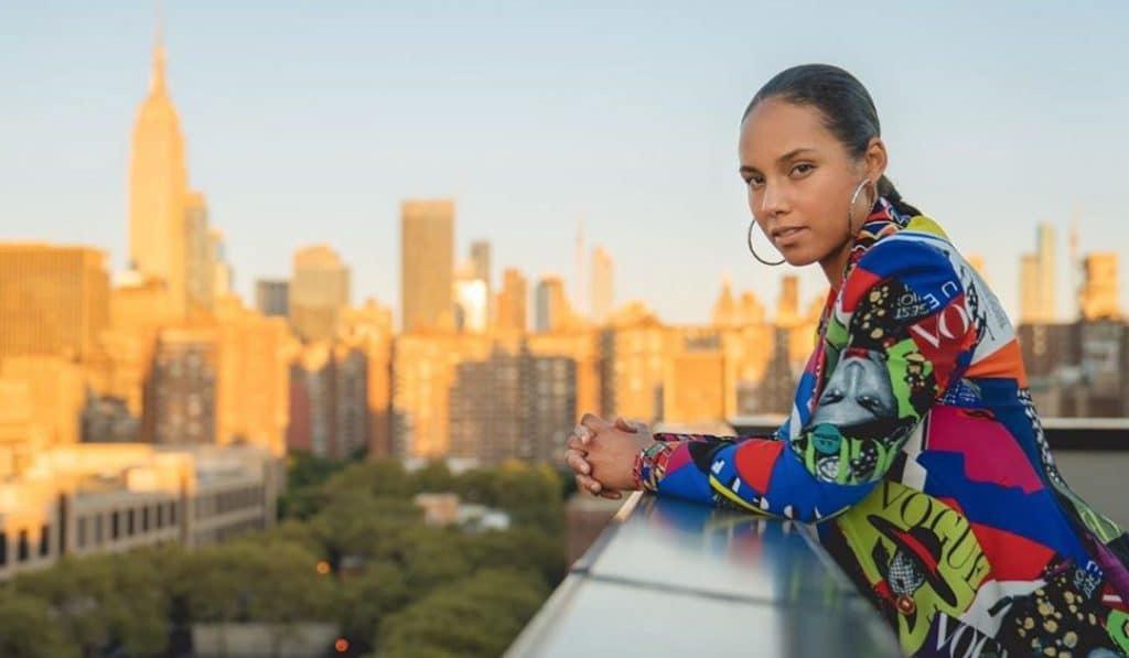 Alicia Keys dará un único concierto en Madrid el próximo verano