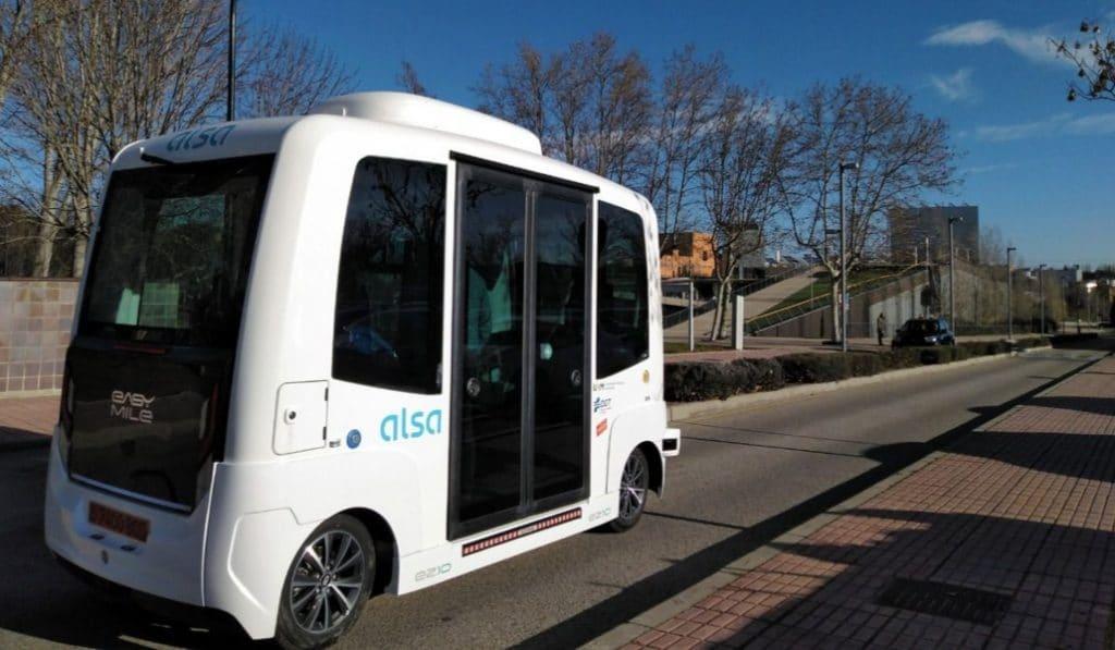 El mes que viene ya habrá autobuses sin conductor en Madrid