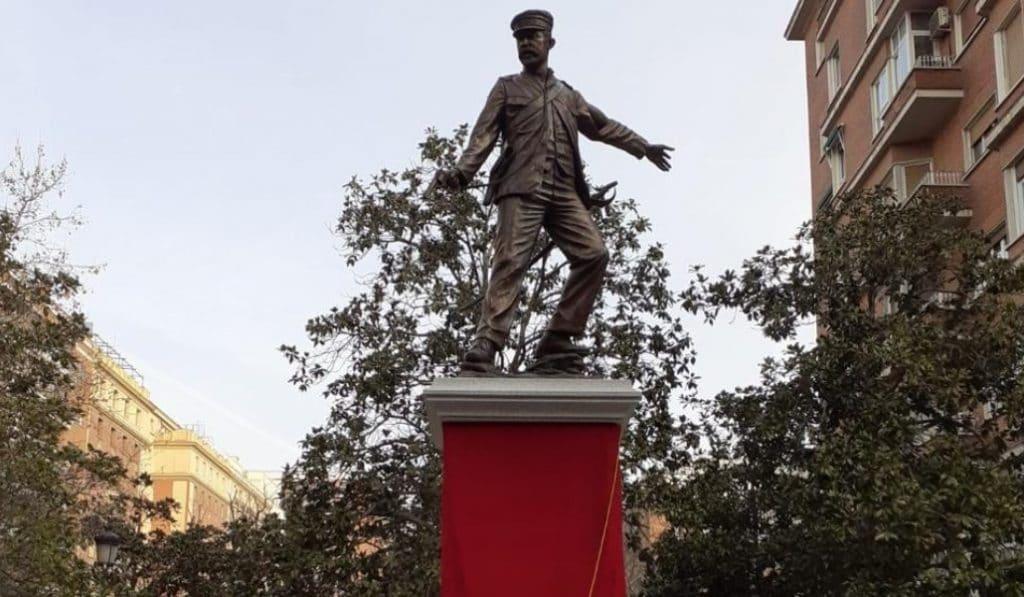 Los últimos de Filipinas ya tienen su estatua en Chamberí