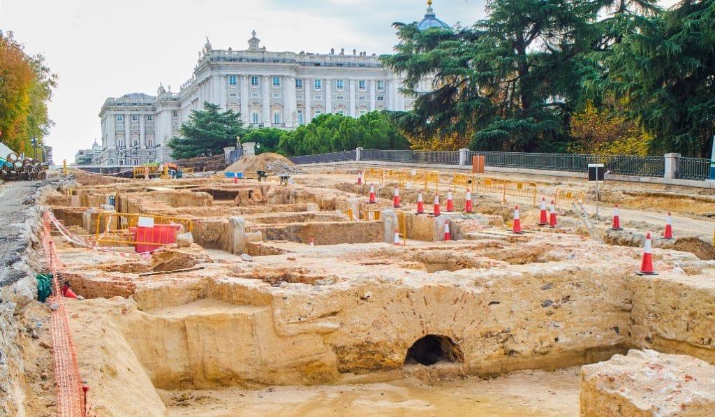Madrid quiere conservar este palacio descubierto en las obras de plaza España
