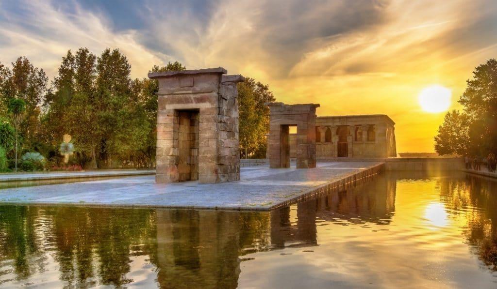 Los madrileños decidirán cuál es la mejor forma de conservar el Templo de Debod