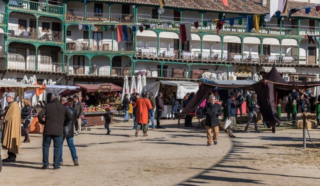 Llega a Chinchón el Mercado Medieval de 2020