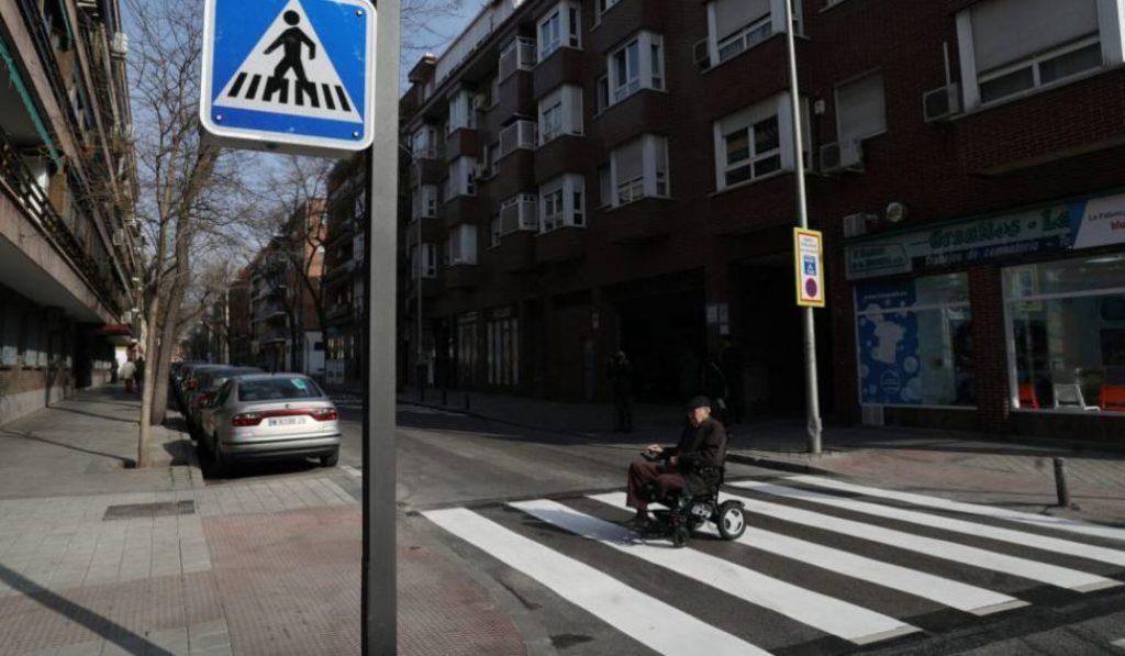 El primer paso de cebra «inteligente» llega a Madrid