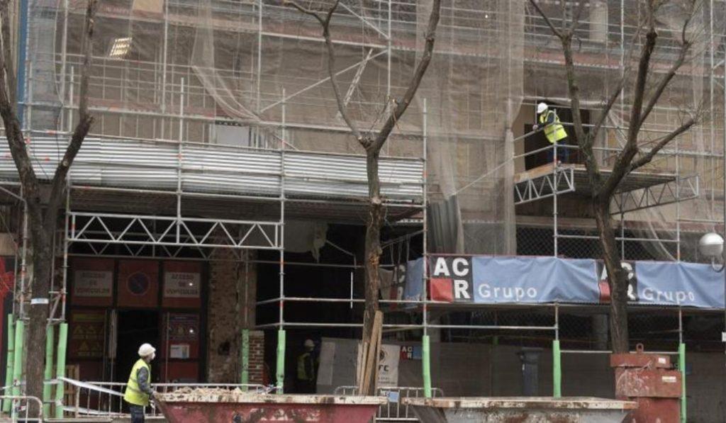 Paralizan todas las obras municipales de Madrid, menos una de Villa de Vallecas