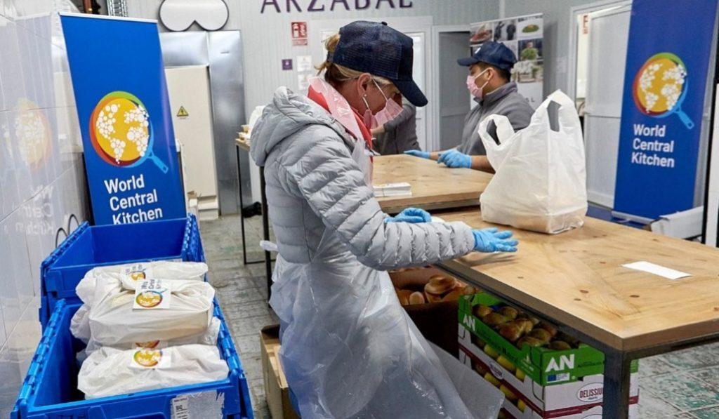 El chef José Andrés y su ONG World Center Kitchen llegan a Madrid