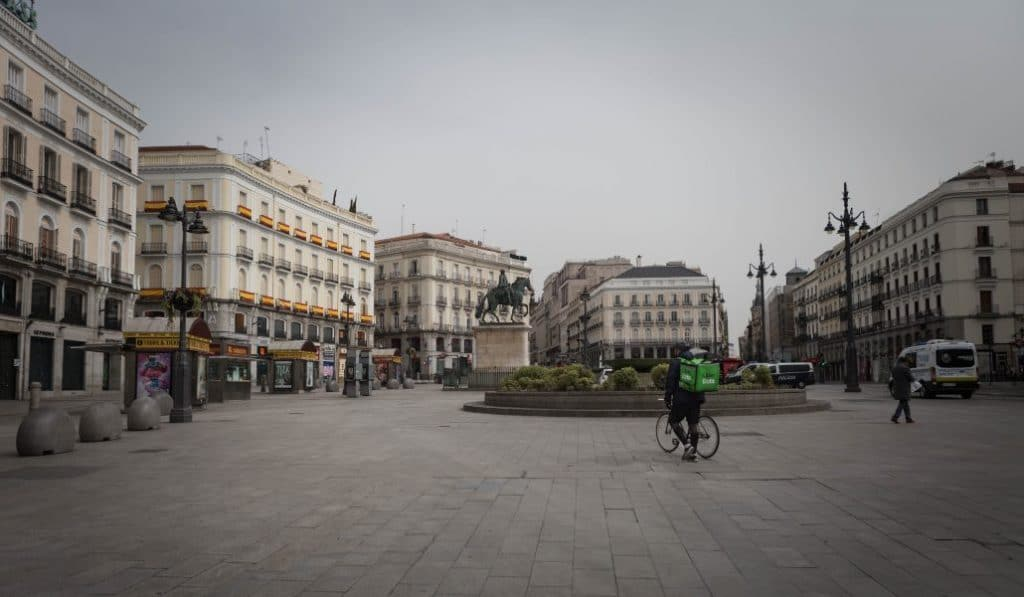 Las imágenes del 'Madrid Desierto' durante la cuarentena por el coronavirus