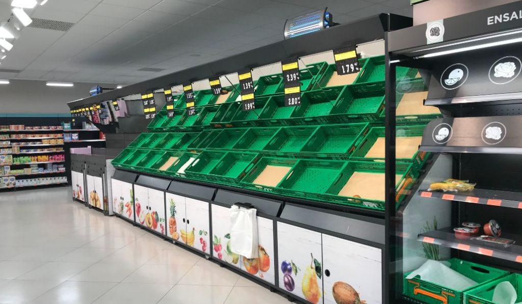 Las nuevas normas para ir a comprar los supermercados durante la cuarentena