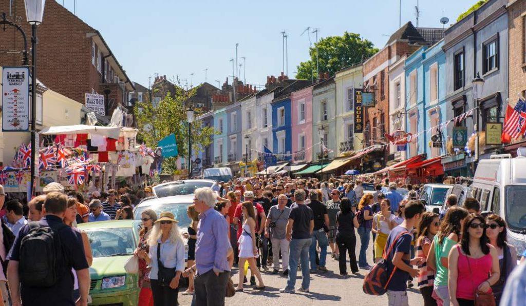 El mercado londinense de Notting Hill estará en Madrid durante 10 días