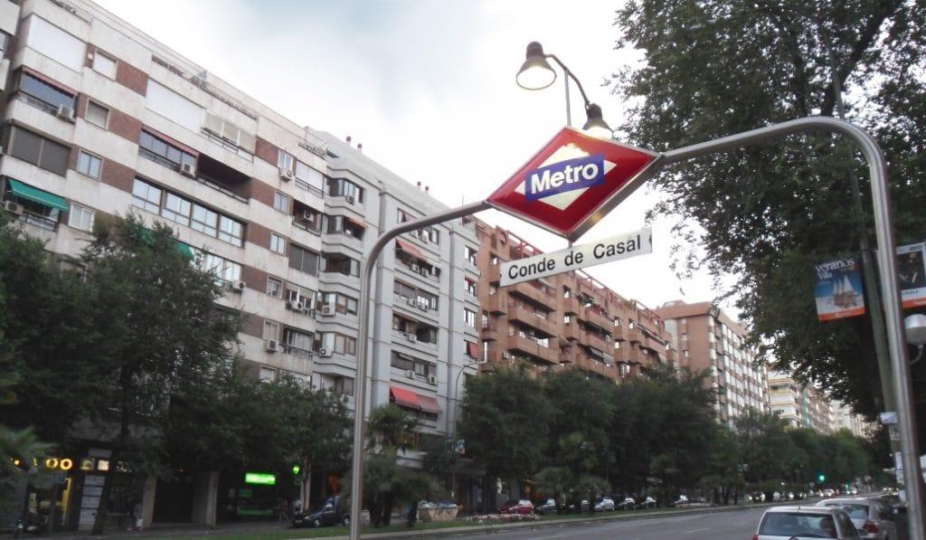 La estación de Metro de Conde de Casal cerrará durante dos semanas