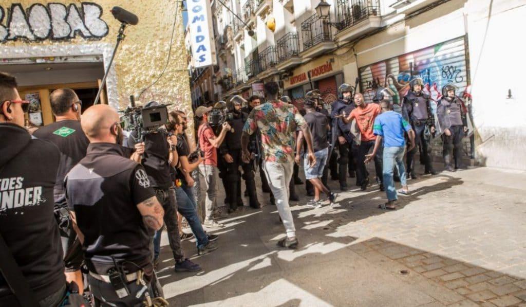 Madrid es la ciudad española con más rodajes