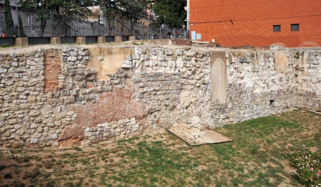 El Ayuntamiento de Madrid podría rehabilitar la muralla árabe