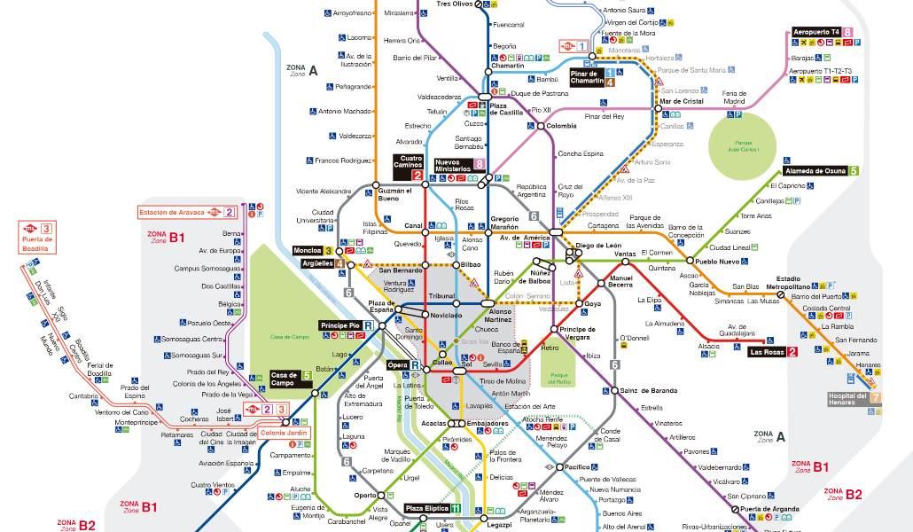 nuevos planos metro madrid