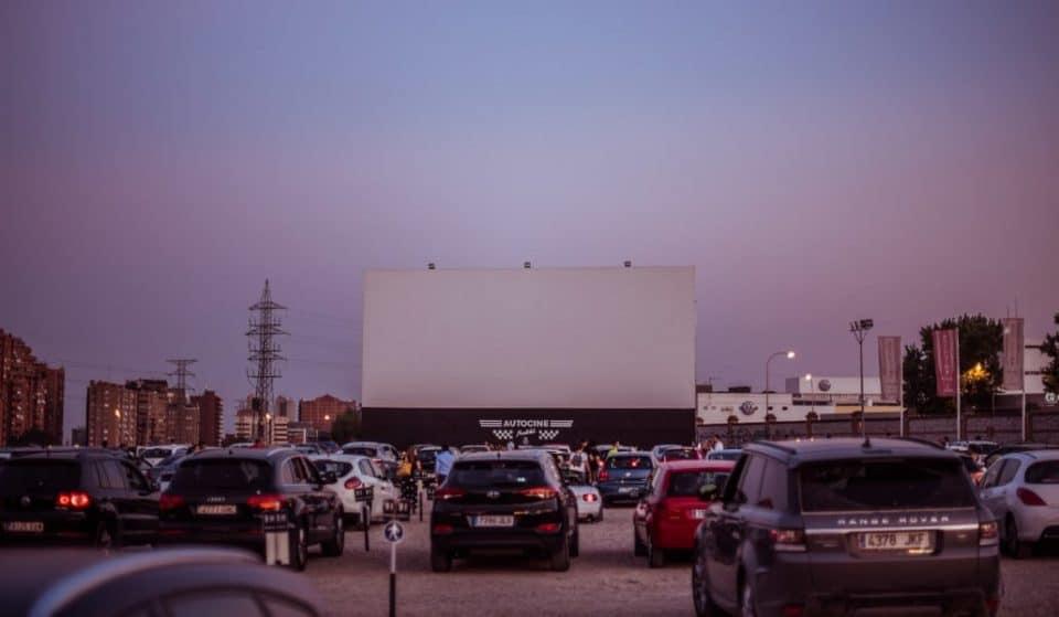 Autocine Madrid RACE: cuando tu coche puede ser el lugar más seguro para disfrutar del cine