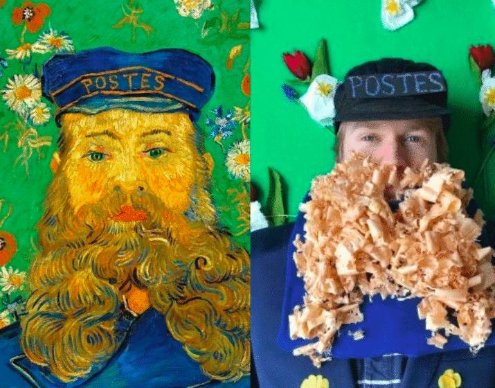 Getty te desafía a recrear obras de arte famosas con lo que tengas por casa