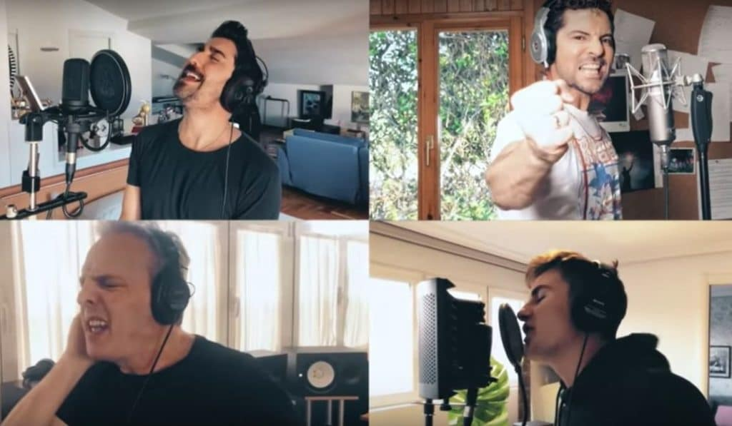 Más de 30 artistas se unen para versionar 'Resistiré 2020'