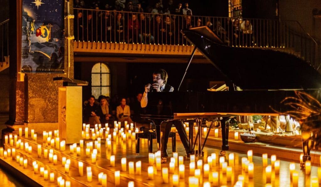 Candlelight piano a dúo: Mozart y Beethoven a la luz de las velas