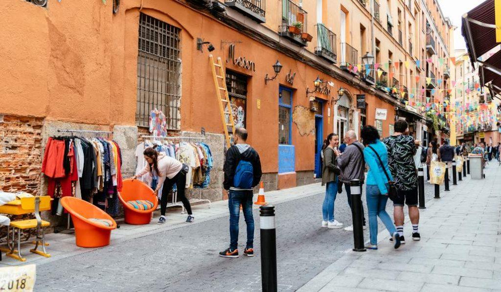 Los mercadillos ambulantes vuelven a Madrid, excepto el Rastro