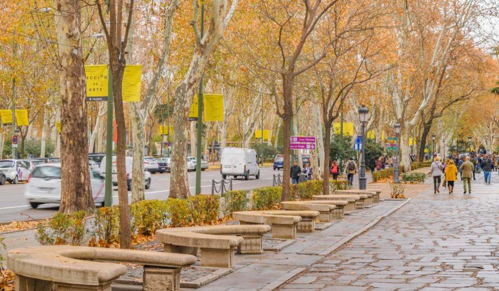 El paseo del Prado y otras calles madrileñas serán peatonales los fines de semana