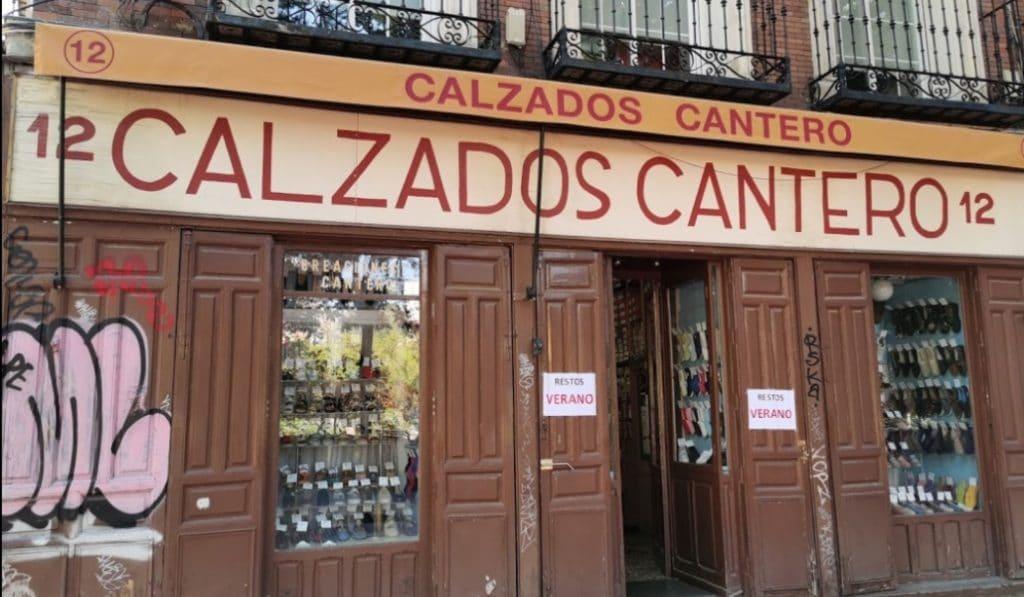 Cierra la alpargatería Calzados Cantero tras 64 años abierta